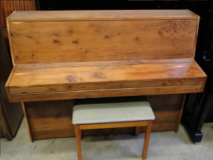 Daneman used upright piano
