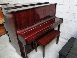 Dark Cherry Nordiska Piano