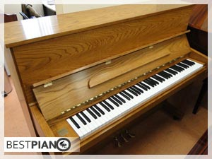 new piano Hoffmann and Kuhne Oak Colour