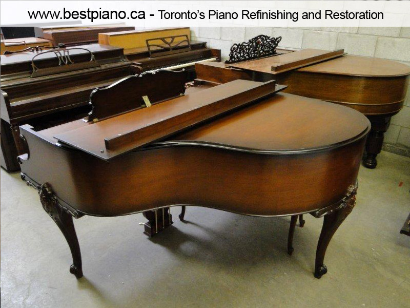 piano restoration after